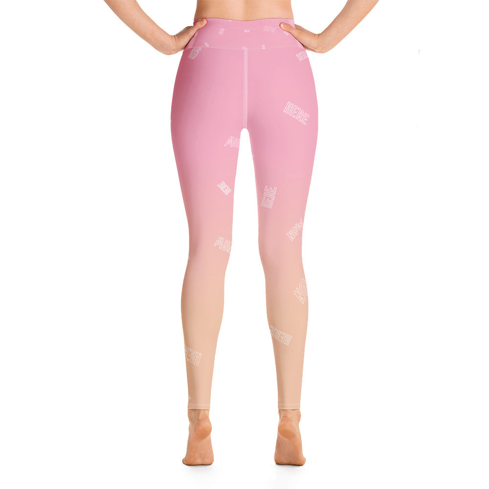 Leggings - Rosa degradado