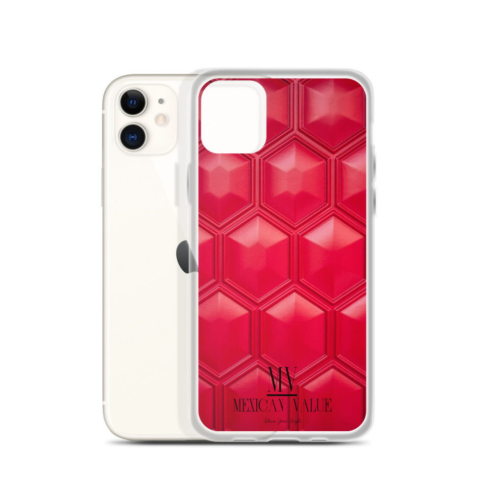 Funda para iPhone - Red Texture