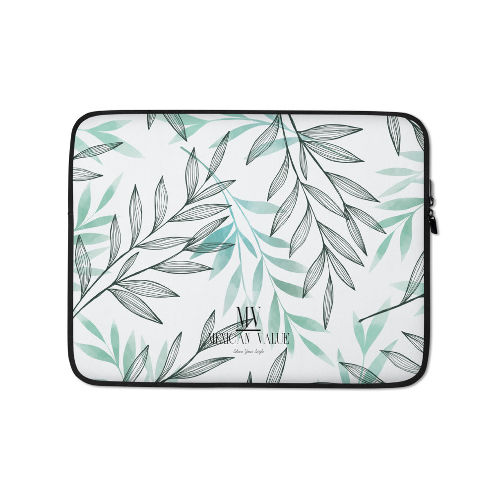 Funda para portátil - Green Leaves