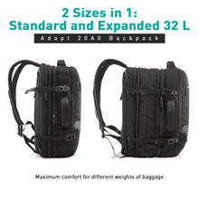 Load image into Gallery viewer, U Elements Shield 201 Crossbody Bag Black