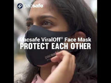 Load and play video in Gallery viewer, Pacsafe® ViralOff® Face Mask Ash Gray - Medium