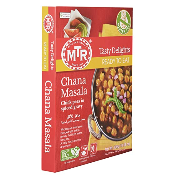 Chana Masala (Chick Peas Blended with Indian Spices) - MTR