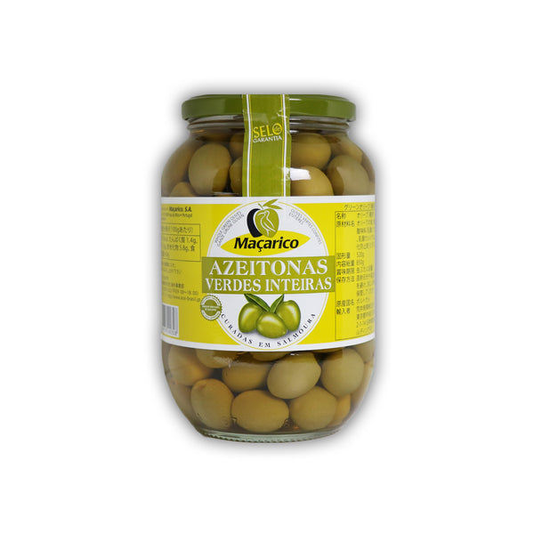 Maçarico Green Olives グリーンオリーブ 850g