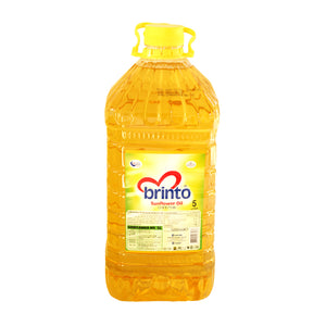 Brinto Sunflower Oil 5L