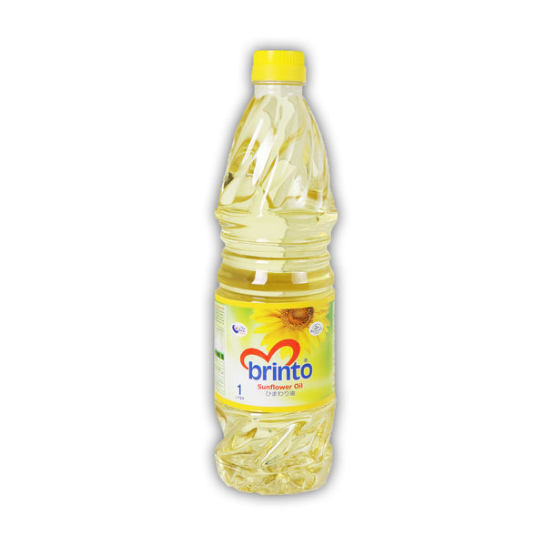 Brinto Sunflower Oil ひまわり油  1L
