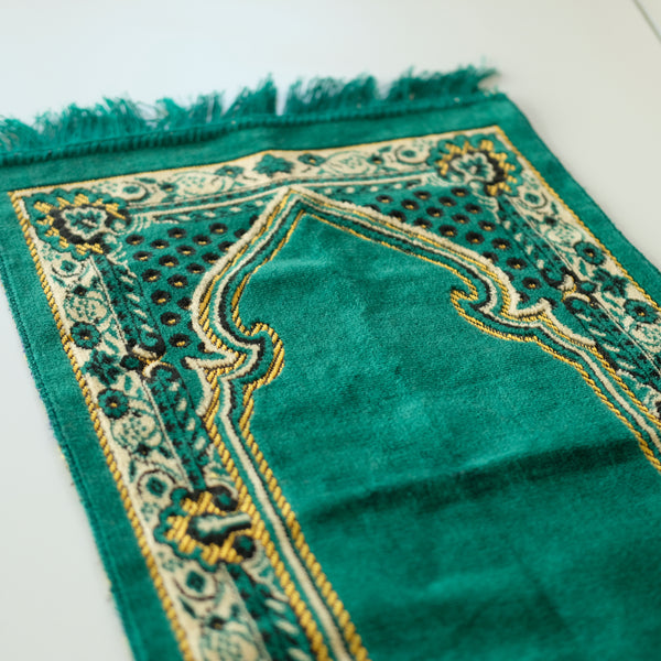 Velvet Prayer Rug for Kids