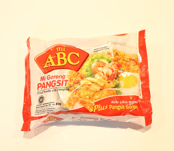 Mi Goreng with Dumpling - ABC