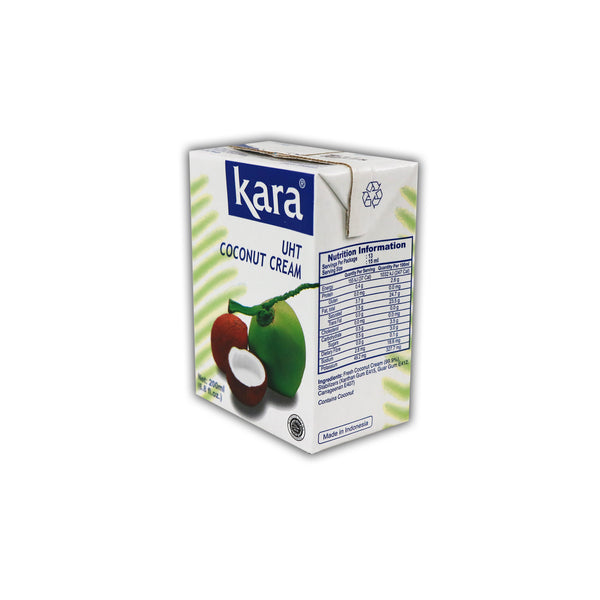 Kara Coconut Cream UHT ココナッツクリーム 200mL