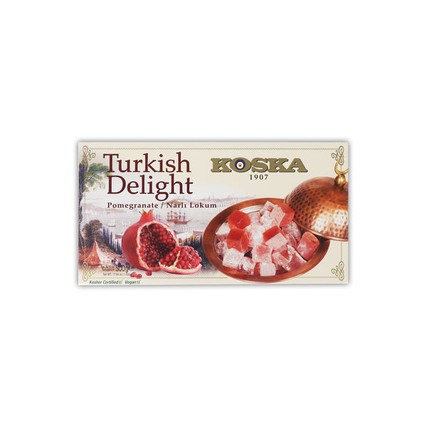 Koska Pomegranate Turkısh Delight ザクロの甘い 500 g