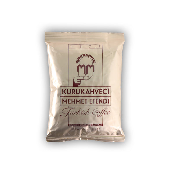 Kurukahveci Mehmet Efendi Turkish Coffee トルコのレギュラーコーヒー 100g