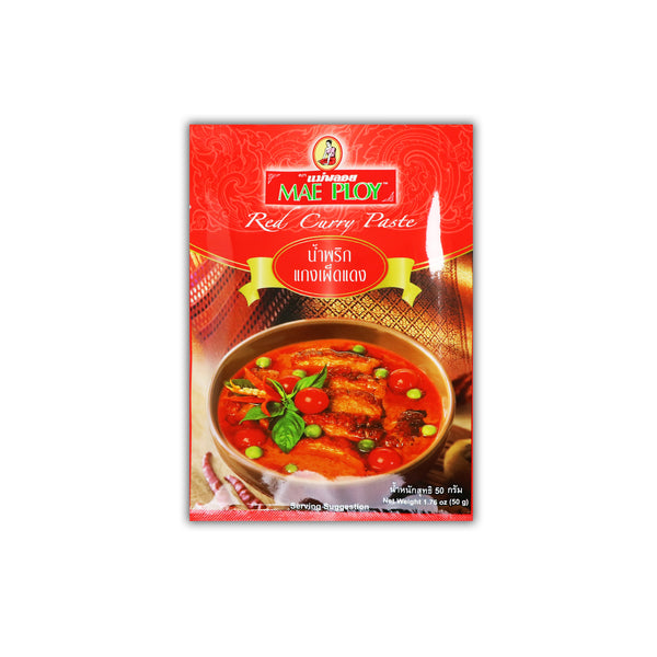 Mae Ploy Red Curry Paste レッドカレーペースト 50g