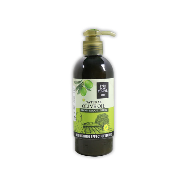 Eyüp Sabri Tuncer Natural Olive Oil Hand and Body Lotion オリーブオイル入りハンド&ボディクリーム 250mL
