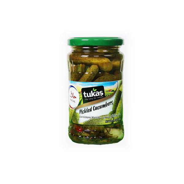 Tukaş Pickled Cucumbers きゅうりのピクルス  330gr