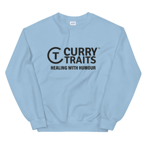 Curry Traits Unisex Sweatshirt (Dark Design)