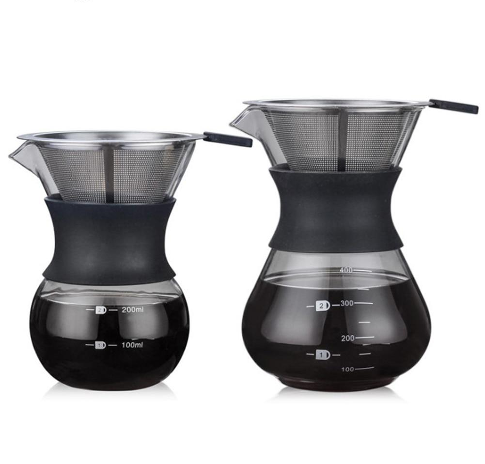 Paperless Pour Over Coffee Dripper