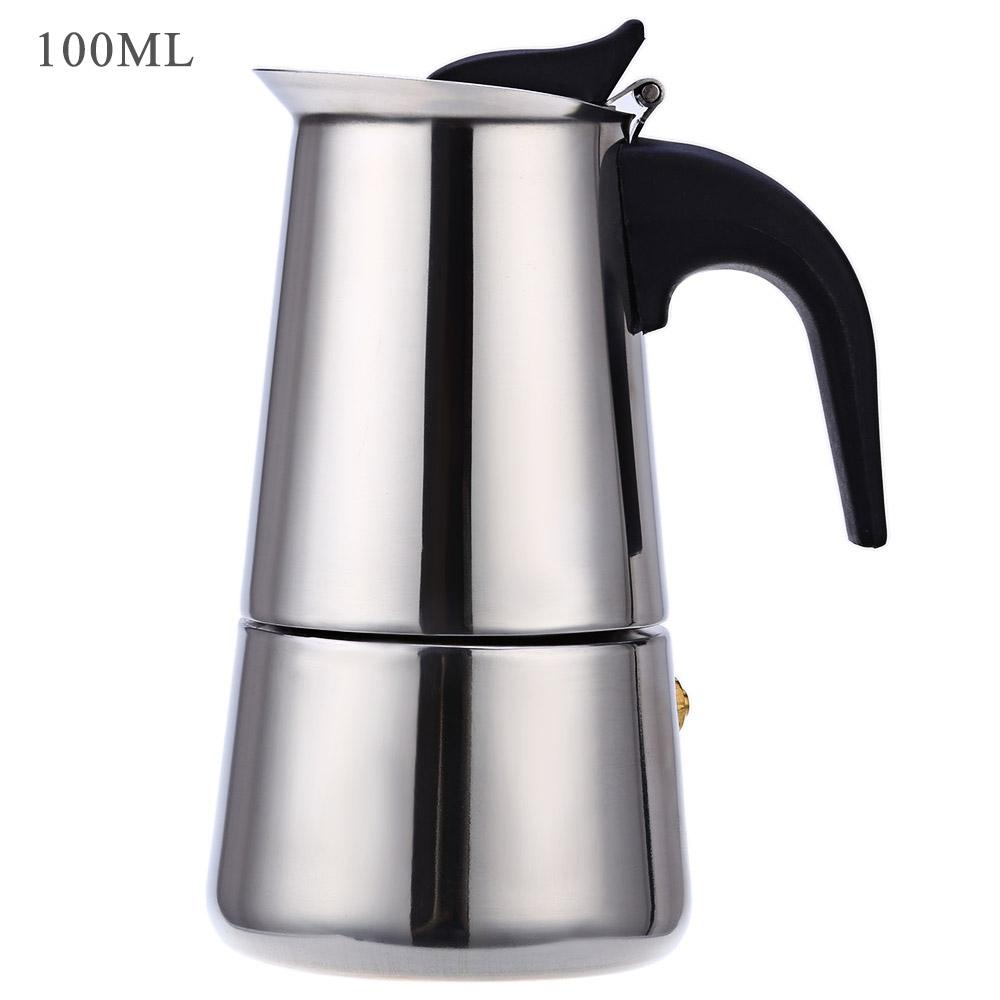 Stainless Steel Coffee Maker Pot - New Roasters