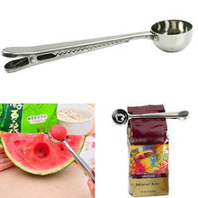 Load image into Gallery viewer, Multifunction Stainless Steel Coffee Scoop - New Roasters