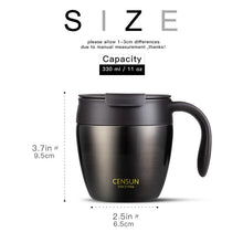 Load image into Gallery viewer, Double wall 320ml stainless steel coffee thermos - New Roasters