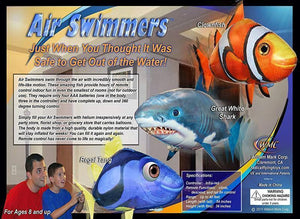 (Buy 2 Free Shipping) Air Swimmers Remote Control Flying Shark