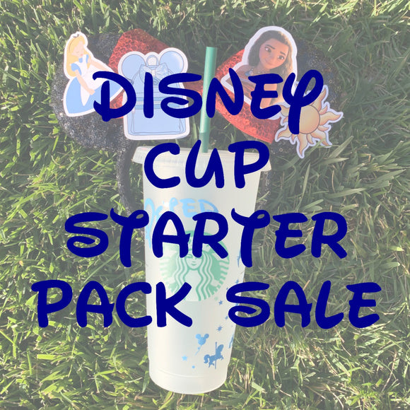 Disney Cup Sticker Pack