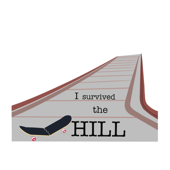 I survived the hill