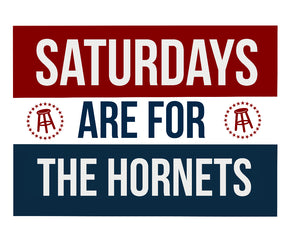 Saturdays are for the Hornets
