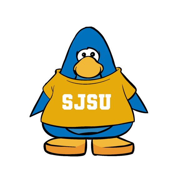 San Jose State Club Penguin