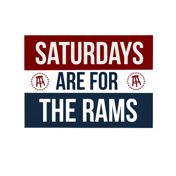 Saturdays are for the Rams