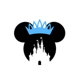 Mickey Ears Castle with Crown