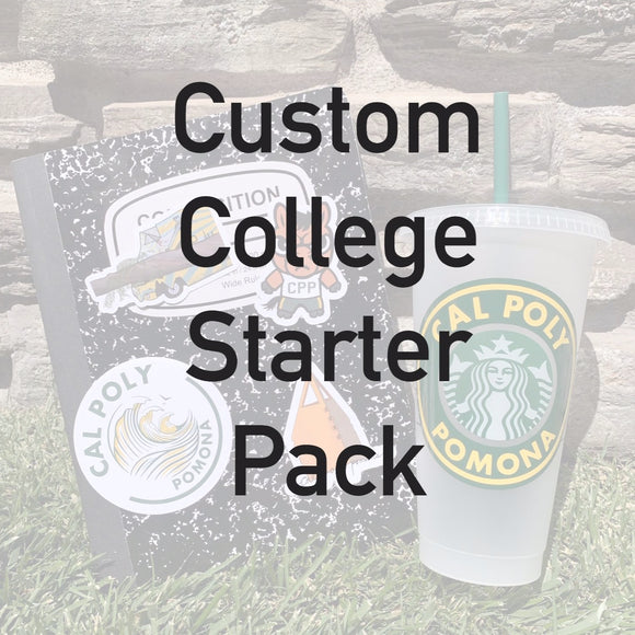 Custom College Starter Pack