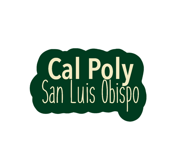 Cloudy Cal Poly slo