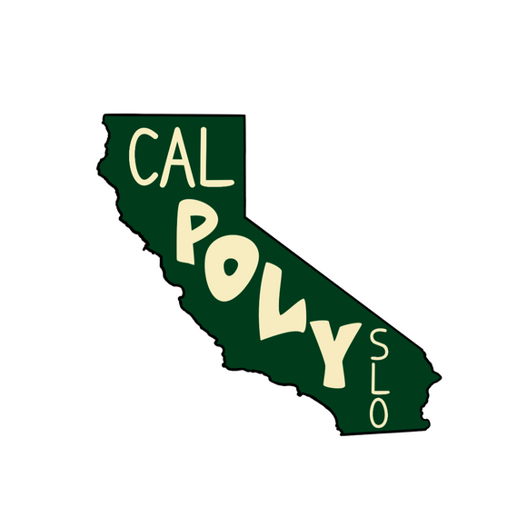 California SLO Sticker