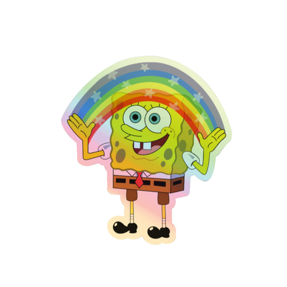 Holographic Imagination Spongebob