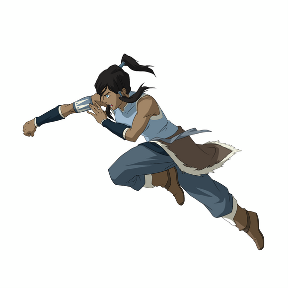 Fighting Korra