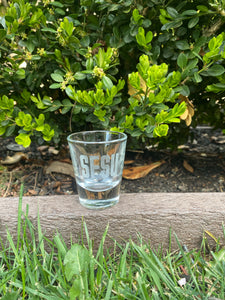 SFSU Etched Shot Glass