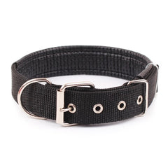 Rottweiler Comfortable Adjustable Nylon Strap  Collar