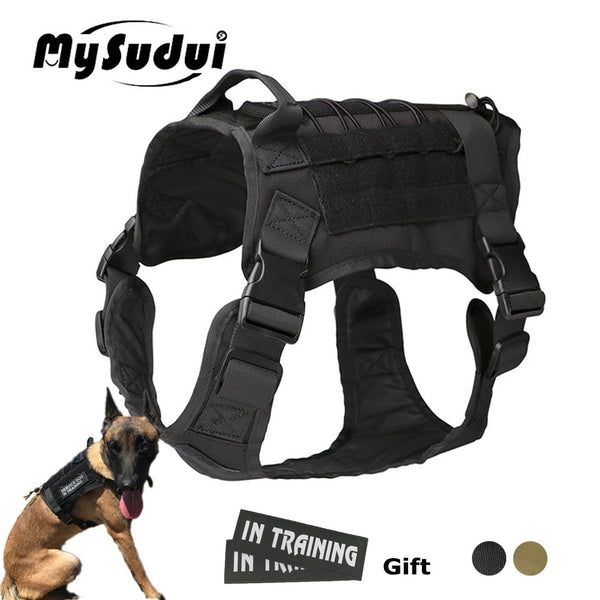 Rottweiler Tactical Harness Military Army Tactical Service Dog