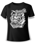 Drill Press Rat Shirt (White)