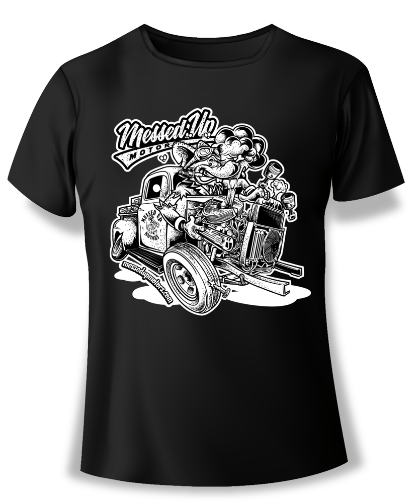 Ford F1 Blowup Shirt (White)