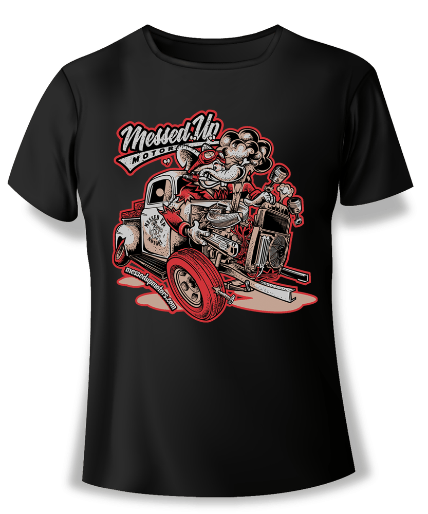 Ford F1 Blowup Shirt (Colour) - Messed Up Motors