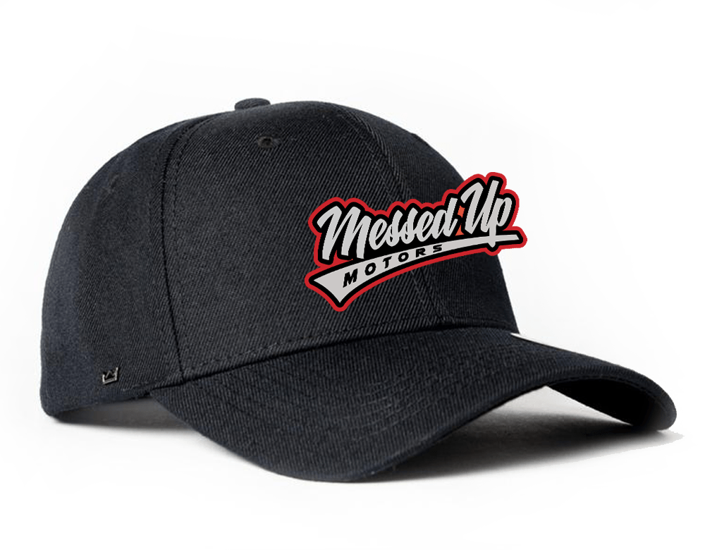 Messed Up Snapback - Black