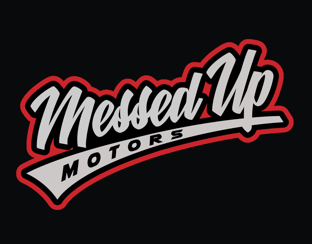 Messed Up Snapback - Black - Messed Up Motors