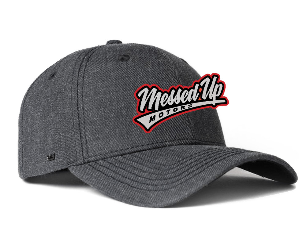 Messed Up Snapback - Charcoal - Messed Up Motors