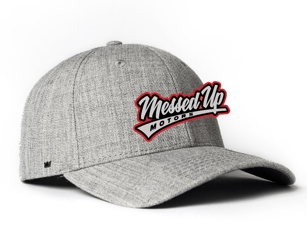 Messed Up Snapback - Light Grey