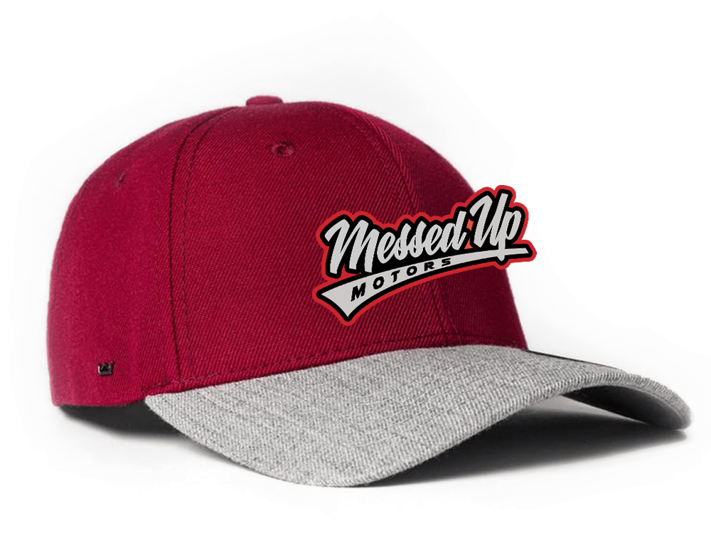 Messed Up Snapback - Red - Messed Up Motors