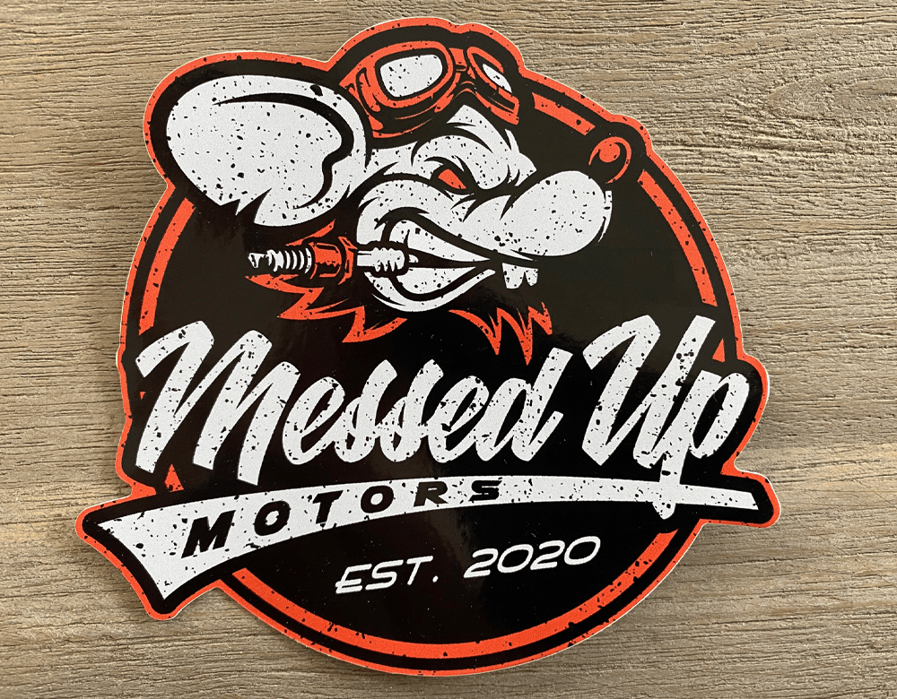 Messed Up Sticker Pack - Messed Up Motors