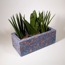 Load image into Gallery viewer, Blue Terrazzo Planter Short