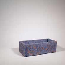 Load image into Gallery viewer, Blue Terrazzo Planter Tall