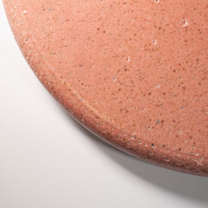 Pink Glazed Round Board