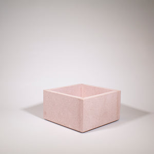 Square Pink Planter